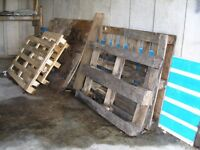 FREE WOOD (includes several pallets)