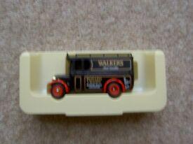 Walkers crisps model vintage van