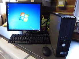 Dell OptiPlex 380 SFF PC Pentium Dual Core E5800 3.2GHz 2.0GB Ram 500 GB HDD