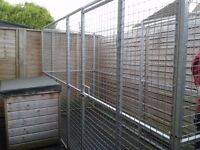 Galvanised Dog Run Excellent Condition. 12ft x 6ft
