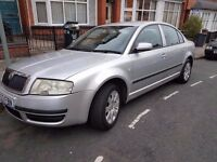 2003 SKODA SUPERB 1.8T...LPG..LONG MOT..USED DAILY
