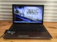 "FAST LAPTOP ASUS K53s # intel core i3 # 6GB RAM # 500GB STORAGE # WINDOWS 7 # 15.6"" SCREEN"