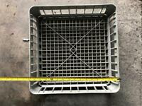 Glass washer tray / rack / basket