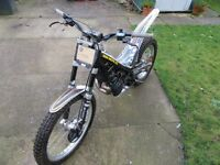 Sherco 290 trials bike (not beta gasgas)