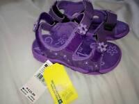 Sandals, kids size 10