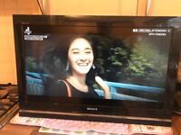 """SONY BRAVIA LCD TV 32"""" internet hdmi"""