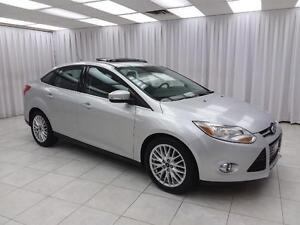 2012 Ford Focus SEL SEDAN w/ HTD LEATHER, DUAL CLIMATE, SUNROOF