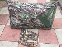 Camouflage Gun dog hide and vest