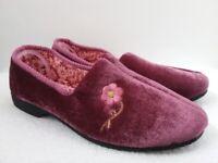 Ladies' Dark Pink Slippers 'Step In' Size 5 (New)