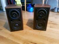 Denon speakers.