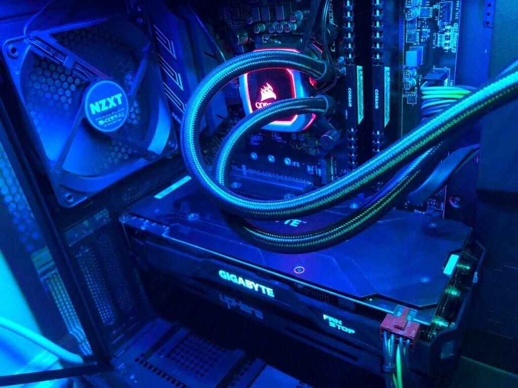 Gaming PC | Z390 | i5 9600K | GTX 1080 8GB | 16GB RAM | 1TB HDD | 250GB SSD  | NZXT Case | in Hartlepool, County Durham | Gumtree