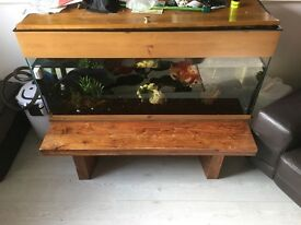 4 foot fish tanks for sale or swaps for smaller tank