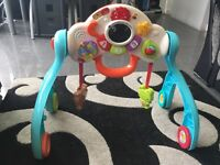 Vtech 3 in 1 activity play gym/ walker
