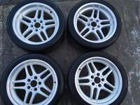 Bmw alloy wheels m parallel e39 with tyres m5 540 535 530d m sport