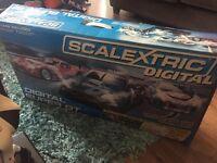 Scalextric Digital Super GT - 3 original Cars, 2 Lane changing tracks, 6.7m long, needs 2.8x1.4m