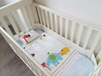 Mamas and Papas Pebble Cot (off white colour) and deluxe foam mattress for sale for £100