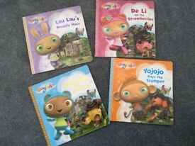Set of 4 waybuloo books