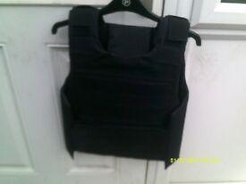 black airsoft tactictal vest (never worn)