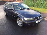 BMW 3 Series 3.0 330d Sport Touring AUTO 2004 04 PLATE