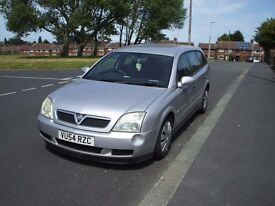 SILVER VAUXHALL VECTRA ESTATE AUTOMATIC.