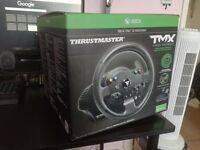Thrustmaster TMX wheel with stand