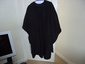 Black ACADEMIC GRADUATION GOWN