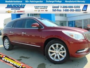2017 Buick Enclave *Remote start! *Moonroof! *Heated/cooled seat