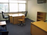 4-5 Workstations Office Space With Reduced Rent in Park Royal NW10