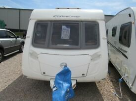 SWIFT CORNICHE 19/4 2010 *FIXED BED* 4 BERTH CARAVAN