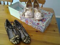 Ladies occasion shoes size 5