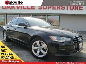 2012 Audi A6 3.0T S-LINE | Tiptronic | ACCIDENT FREE | NAVI
