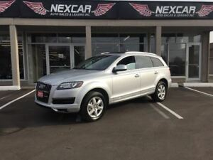 2013 Audi Q7 3.0T 7PASS QUATTRO AWD LEATHER PANORAMIC ROOF 93K