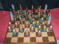 HARRY POTTER CHESS SET & BOARD