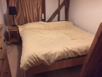Contemporary Stunning Super Kingsize Pine bed and mattress