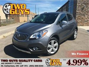 2015 Buick Encore CONVENIENCE AWD BOSE AUDIO GREAT LOW KMS!
