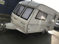 buccaneer elan 12 caravan WITH Motor Mover - Hot water shower- fully loaded - large awning