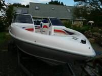 Stunning sports boat - like new - engine less than 30hrs - like new