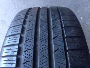 1 LIKE NEW WINTER 245 35 19 CONTINENTAL ContiWinterContact TS810S