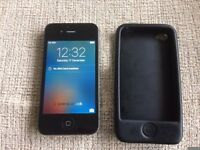 Apple Iphone 4..No Sim & No Passcode Number (Forgotten) No Cracks/Chips VGC!!