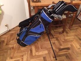 Set of prosimmon golf clubs