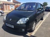 Renault Megan Scenic - 2002 - Black - 5 Door - Brand New MOT - Spares Or Repair - Bournemouth Area