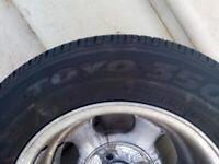 5 Alloy Wheels and Tyres
