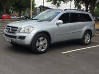 2008 MERCEDES GL320 CDI * FULL HISTORY * 7 SEATER * SAT NAV * LEATHER * PART EX * DELIVERY * FINANCE
