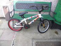 BLITZ BMX 18 INCH WHEELS BIKE