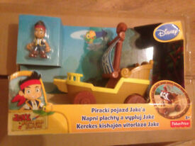 Jake and The Neverland Pirates - Sail n Roll Boat - Jake - BRAND NEW