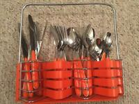 Complete cutlery set 6x items. RRP £79