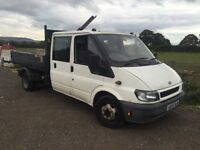 Ford transit double cab 2006