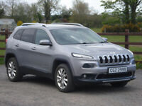 2016 JEEP CHEROKEE 2.2D LIMITED AUTOMATIC 4WD ** HIGH SPEC **