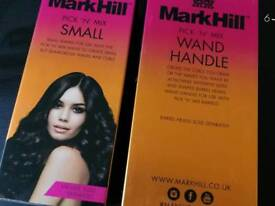 Mark Hill curling handle and wand