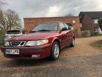 Left Hand Drive Saab 93 Auto Classic